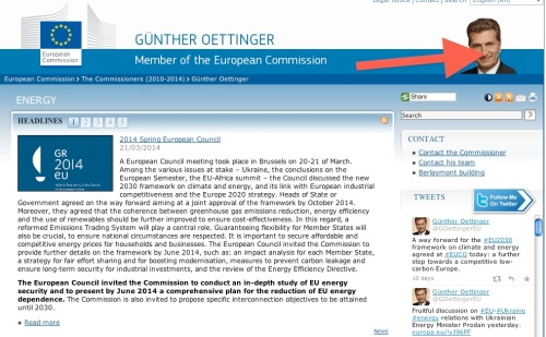 guenter oettinger - energy