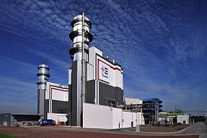 GuD Gas Kraftwerk Hamm-Uentrop